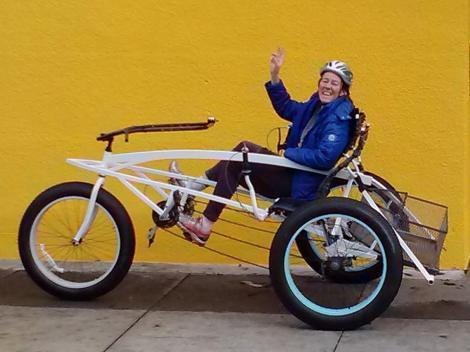 Big Ride, Yellow Wall