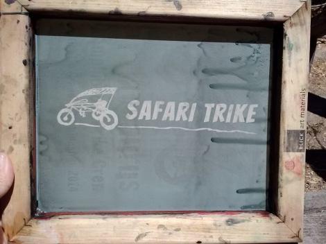 safari trike screen